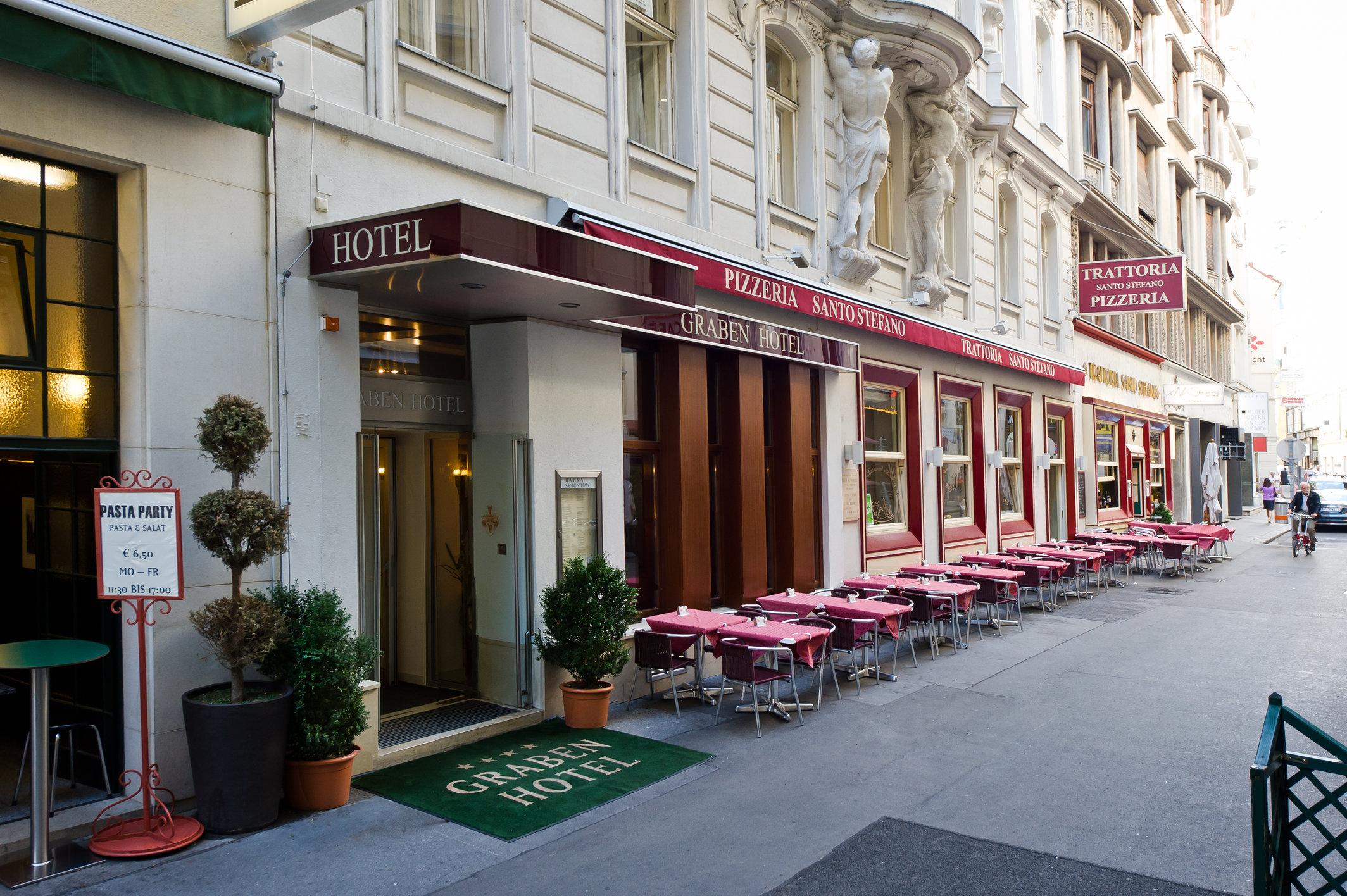 Отель Graben